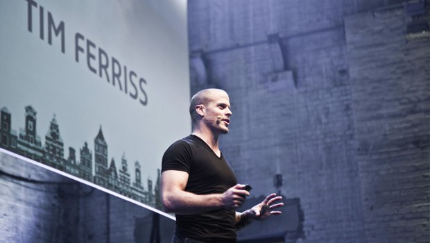 Tim Ferriss at The Next Web Conference