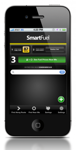 1B FindNearby 254x500 SmartFuel: Location aware gas pricing, on your route.