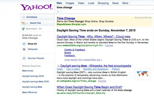 YahooTimeChange 500x313 The TNW Review: blekko   Is this finally a Google killer?