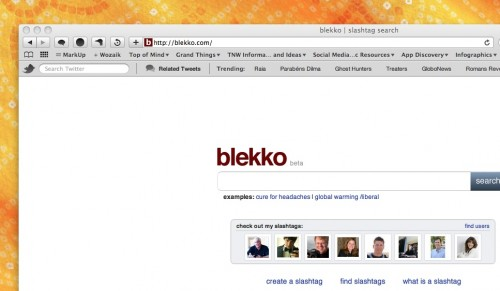 blekkohome 500x291 The TNW Review: blekko   Is this finally a Google killer?