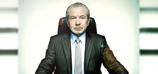 Picture shows Sir Alan Sugar in the fifth series of The Apprentice.