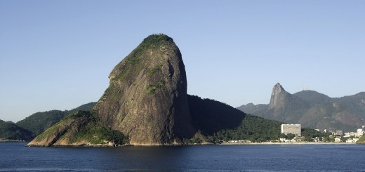 Rio's Sugarloaf from sea