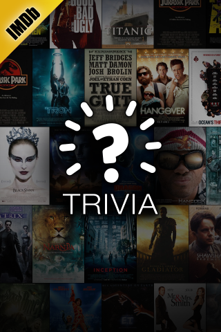 Image IMDb Trivia Splash Screen IMDb steps into the gaming realm with a trivia app for iOS