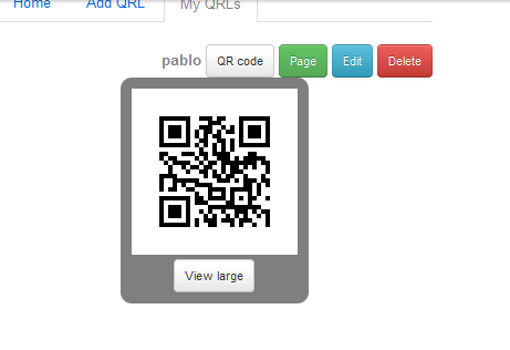 QRL2 QRLme creates QR codes for social profiles