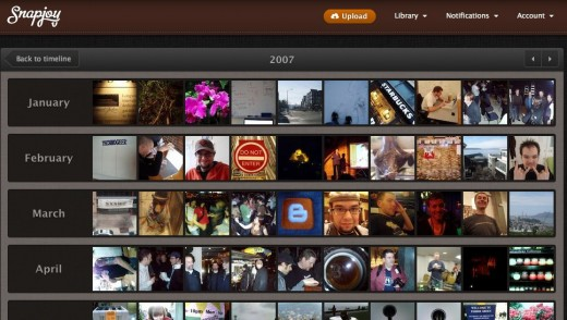 Snapjoy   2007 520x294 Snapjoy wants to store and categorize all of your photos online [invites]