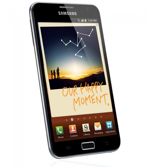 samsung galaxy note dlc3 520x585 Samsung Galaxy Note launches with 5.3 inch Super HD AMOLED screen, dedicated stylus