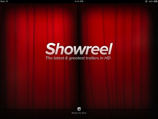 showreel 1 520x390 Showreel brings the latest and greatest movie trailers to your iPad in gorgeous HD