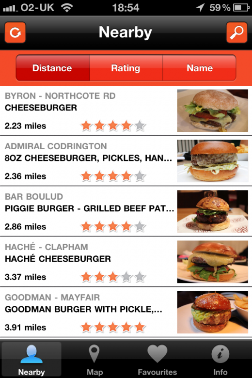 BBL Nearby 520x780 This iPhone app will help you find the best burgers in London [Invites]
