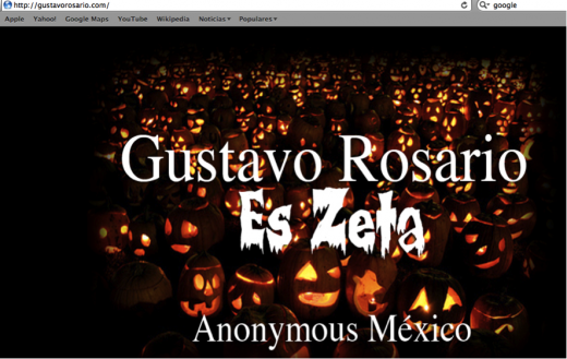 EsZeta 520x329 How Anonymous is threatening a Mexican drug cartel