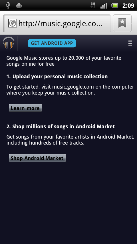 Google Music Store Market Googles Music Store inches closer to launch with new Android Market teaser