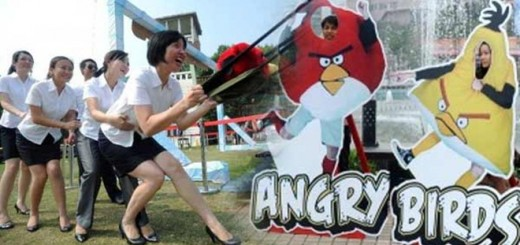 Playground 'Angry Birds' Opens in China