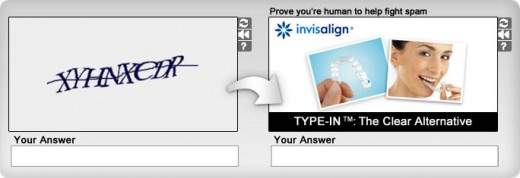 captcha 520x178 Solve Medias smart CAPTCHA ads improve brand recall by 67%