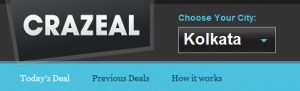 crazeal 300x91 Groupon India rebrands, refocuses and introduces Crazeal