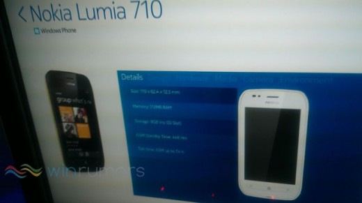 nokialumia710 520x291 Nokia launching Lumia 800 and Lumia 710 Windows Phone models tomorrow