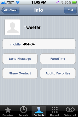 photo 8 Use Siri to update Twitter and Facebook from your iPhone 4S with your voice