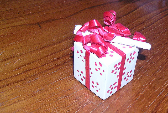 Коробка с сюрпризом на день рождения своими руками