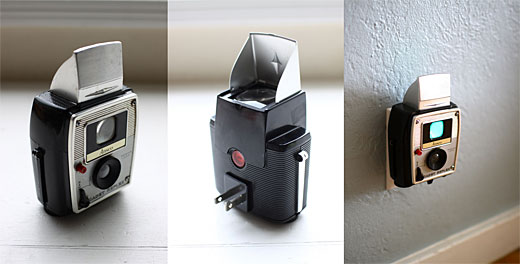 0031 Add some retro flavor to your space with these vintage camera nightlights
