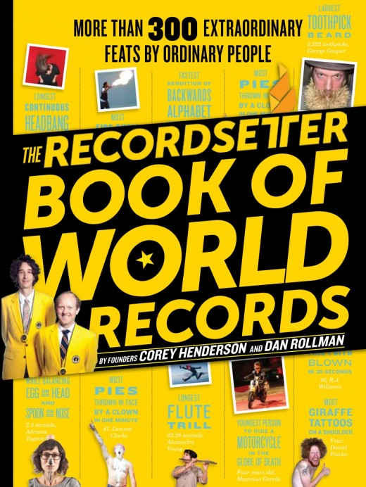 1 73be20eaef 520x692 With a new book, RecordSetter is this generations Guinness World Records