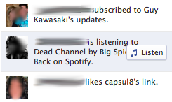 3 Read and Listen buttons reportedly surfacing on Facebook Tickers