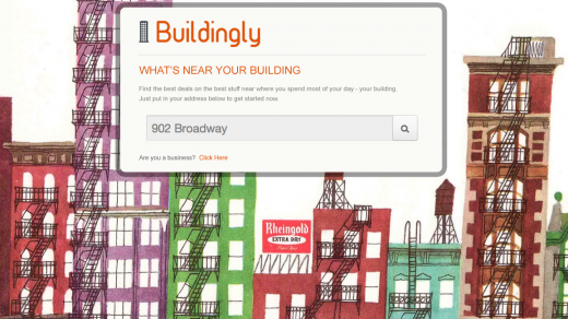 Buildingly 520x292 Reinventing Local: This weeks Best Hacks in New York City