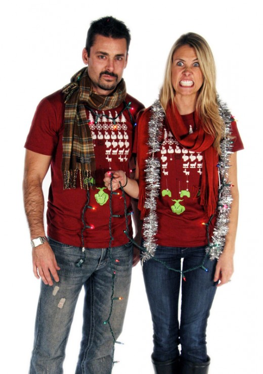 Grinch 1 520x740 Score a shirt from Ugly Christmas Sweater Tees by helping cute animals