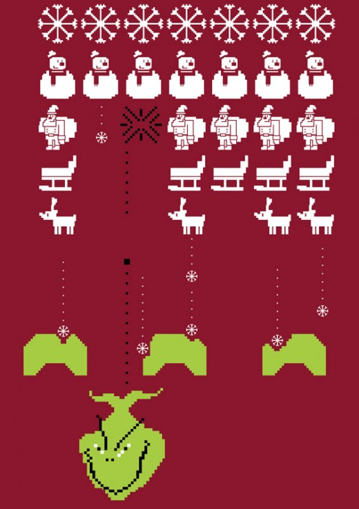 Grinch COMP 1 520x738 Score a shirt from Ugly Christmas Sweater Tees by helping cute animals