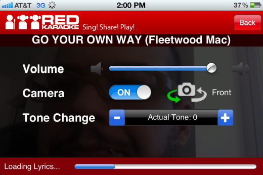 IMG 2354 520x346 Red Karaoke for iOS is like having American Idol in your pocket