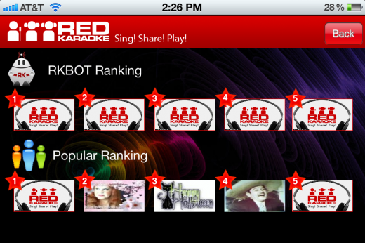 IMG 2362 520x346 Red Karaoke for iOS is like having American Idol in your pocket