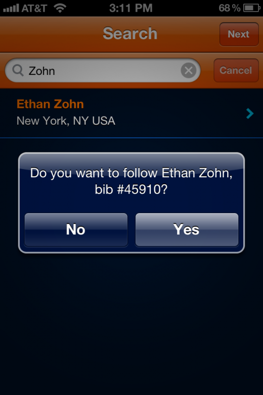 IMG 2407 520x780 Track your favorite NYC Marathon runner with this official app