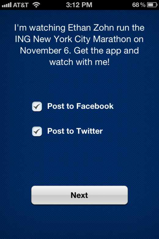 IMG 2408 520x780 Track your favorite NYC Marathon runner with this official app