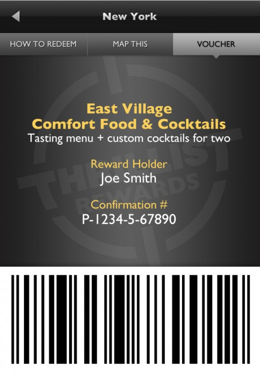 Rewards App Screenshot Redeem 520x747 Just dropped: The Thrillist Rewards App, for dudes who like deals