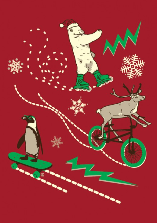 UPSO COMP 520x738 Score a shirt from Ugly Christmas Sweater Tees by helping cute animals