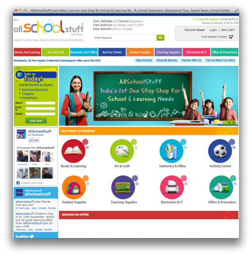 allschoolstuff 520x528 AllSchoolStuff is a new Indian online store that fulfils your schooling needs