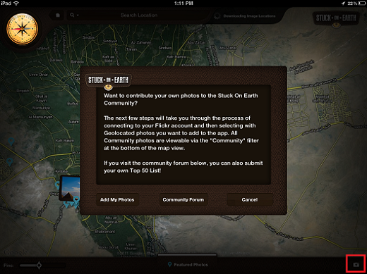 contribute Stuck On Earth lets you travel the world on your iPad