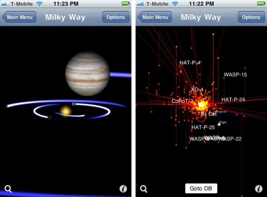 exoplanet iphone 520x384 Exoplanet for iOS is your telescope to planets beyond the solar system