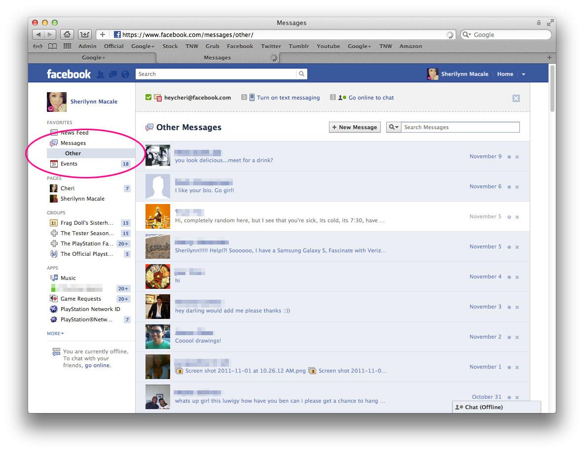 how to undo the delete message in fb