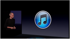 itunes 10 logo steve jobs 300x169 Apple's encore: How music will drive the companys growth in India all over again