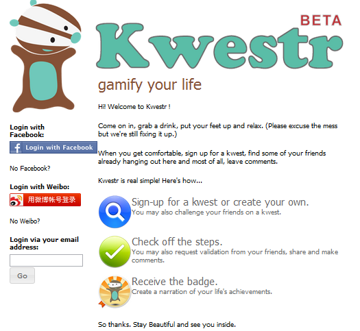 kwestr1 Chinas Kwestr is social gaming for real life