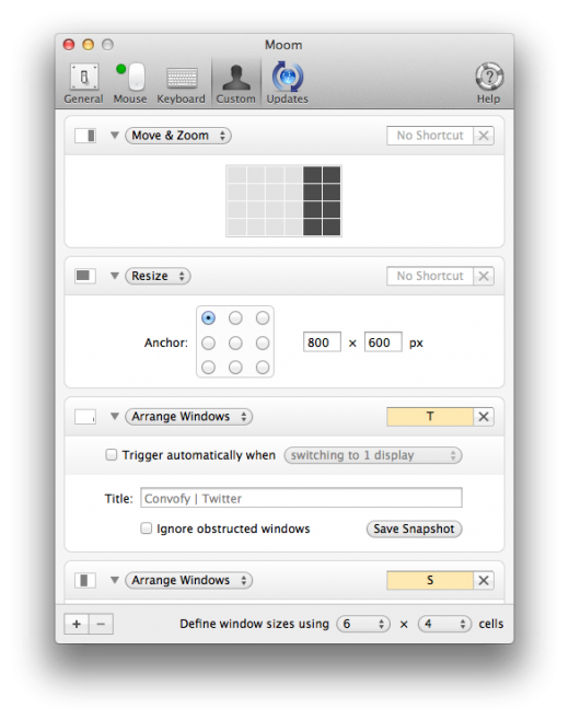 moom custom controls 520x658 Moom Brings Advanced Window Management to Your Mac