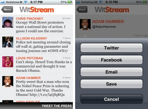 witstream 2 520x384 WitStream Finds the Funniest Tweets So You Don't Have to