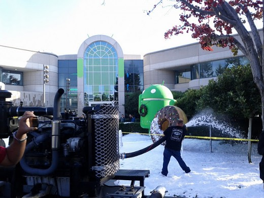 11 4 520x390 What does Google do when it wants snow in California? It makes some