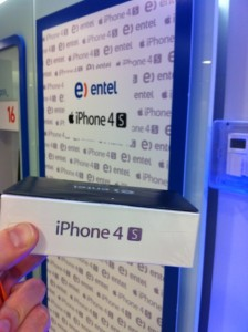 Entel 224x300 iPhone 4S just launched in Chile and in Brazil, where it costs up to $1,830