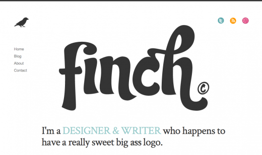 FINCH Designer Writer Human 520x308 9 Reasons why you should consider minimalism for your design portfolio