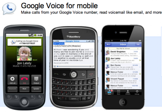 Google Voice 520x358 10 apps and plugins to simplify your life