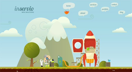 Inservio 14 awesome examples of illustration in web design