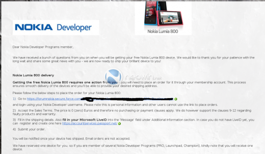 Nokia dev1 520x303 Nokia advances its free Windows Phone plan for developers