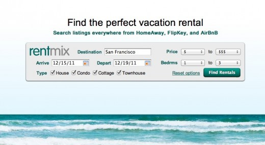 Rentmix Vacation Rentals Search HomeAway FlipKey and AirBnB. 520x286 Hotels are lame, find a house to rent with Rentmix instead