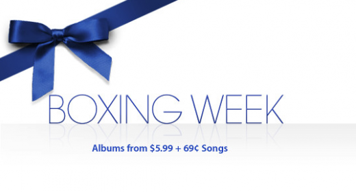 Screen Shot 2011 12 22 at 09.09.09 520x280 Apple launches Boxing Week iTunes music promotion in the Americas and Europe