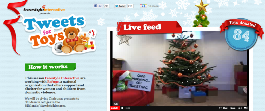 TFT 520x219 Tweets for Toys: Agency ditches Secret Santa to do social good this Christmas