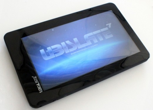 Ubislate7 Aakash tablet 520x373 Indias $45 tablet sold out in a week as pre orders open for $55 device